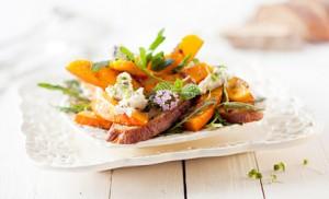 Gourmet Pumpkin Salad with Roasted Hokkaido